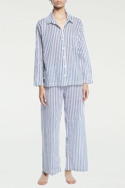 Striped Pajama Set