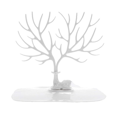 YFLY Antique Birds Tree Stand Jewelry Display Necklace Earring Bracelet Holder Organizer Rack Tower