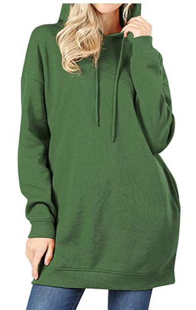 MixMatchy Loose Sweatshirt Tunic