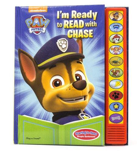 PAW Patrol I'm Ready to Read with Chase Sound Book
