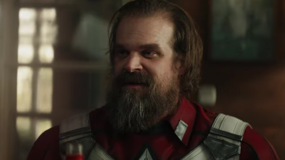 David Harbour S Black Widow Trailer Debut Gives Off Major