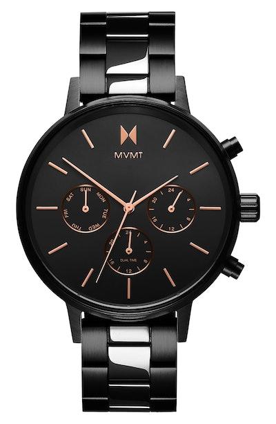 Nova Chronograph Bracelet Watch, 38mm MVMT