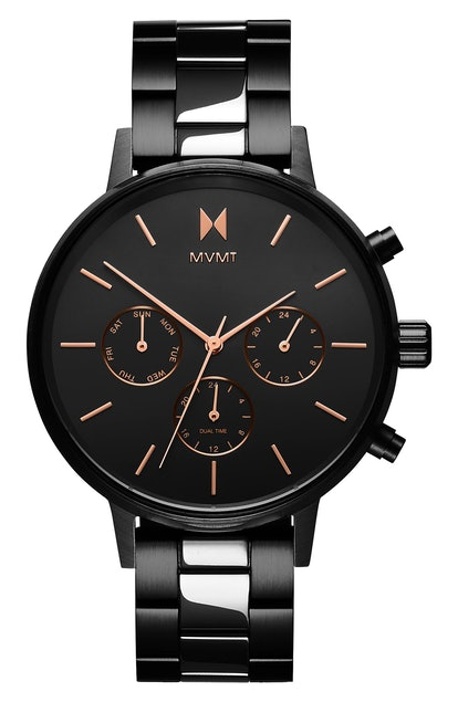 Nova Chronograph Bracelet Watch, 38mm MVMT