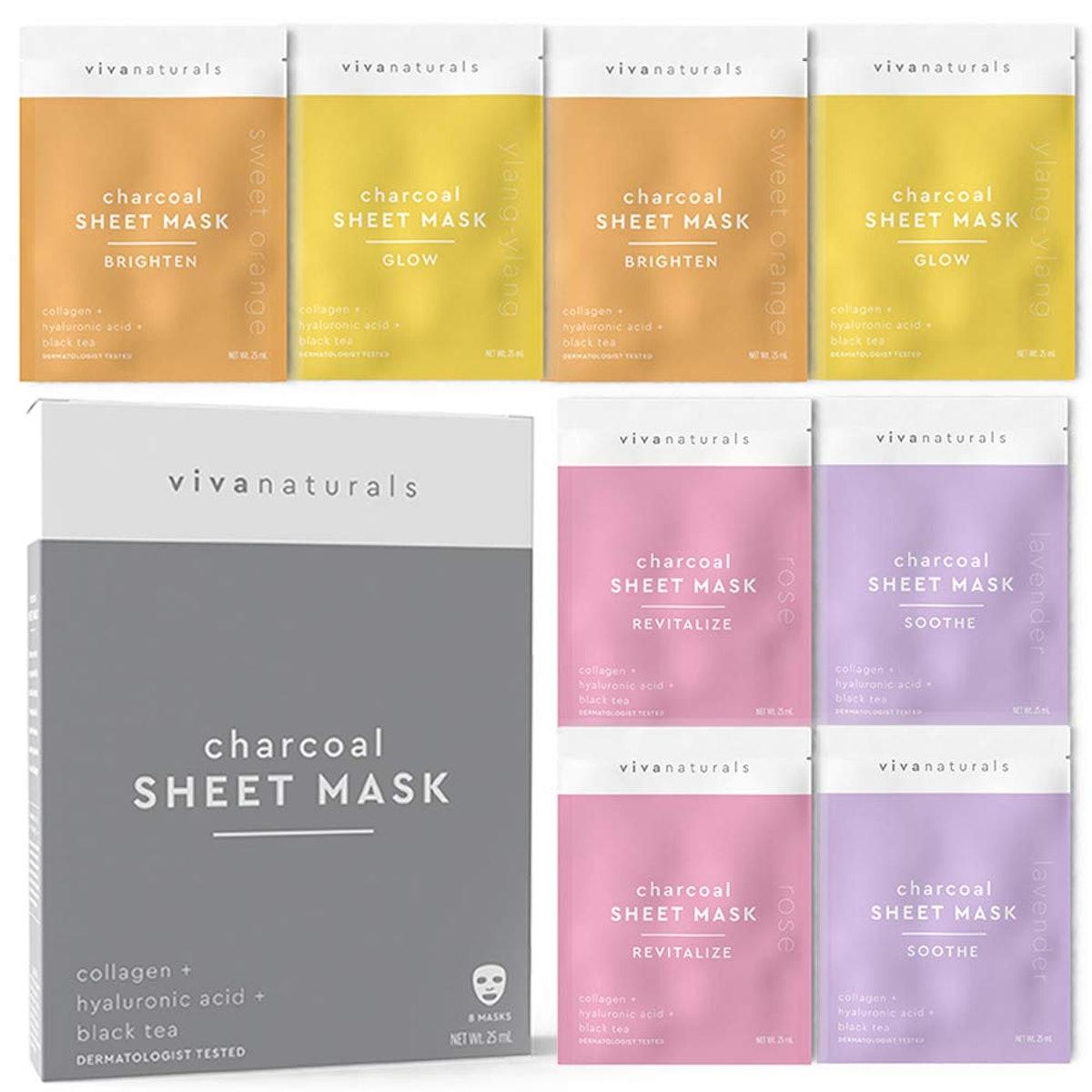 Viva Naturals Face Mask (8-Pack)