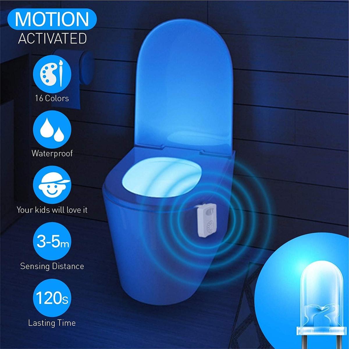 SUNNEST Toilet Bowl Night Light