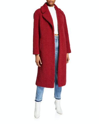 Caron Faux-Shearling Coat