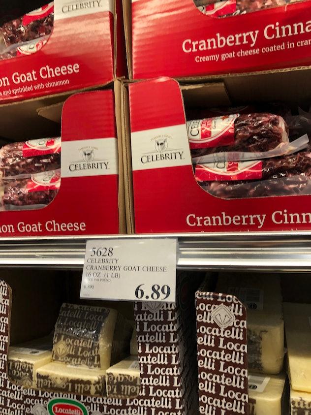 Cranberry Cinnamon Goat Cheese
