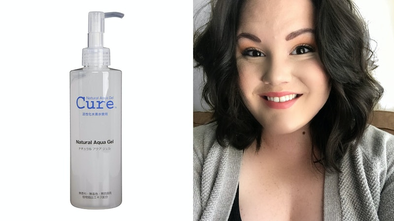 Cure's Natural Aqua Gel exfoliator sells every 4.5 seconds.