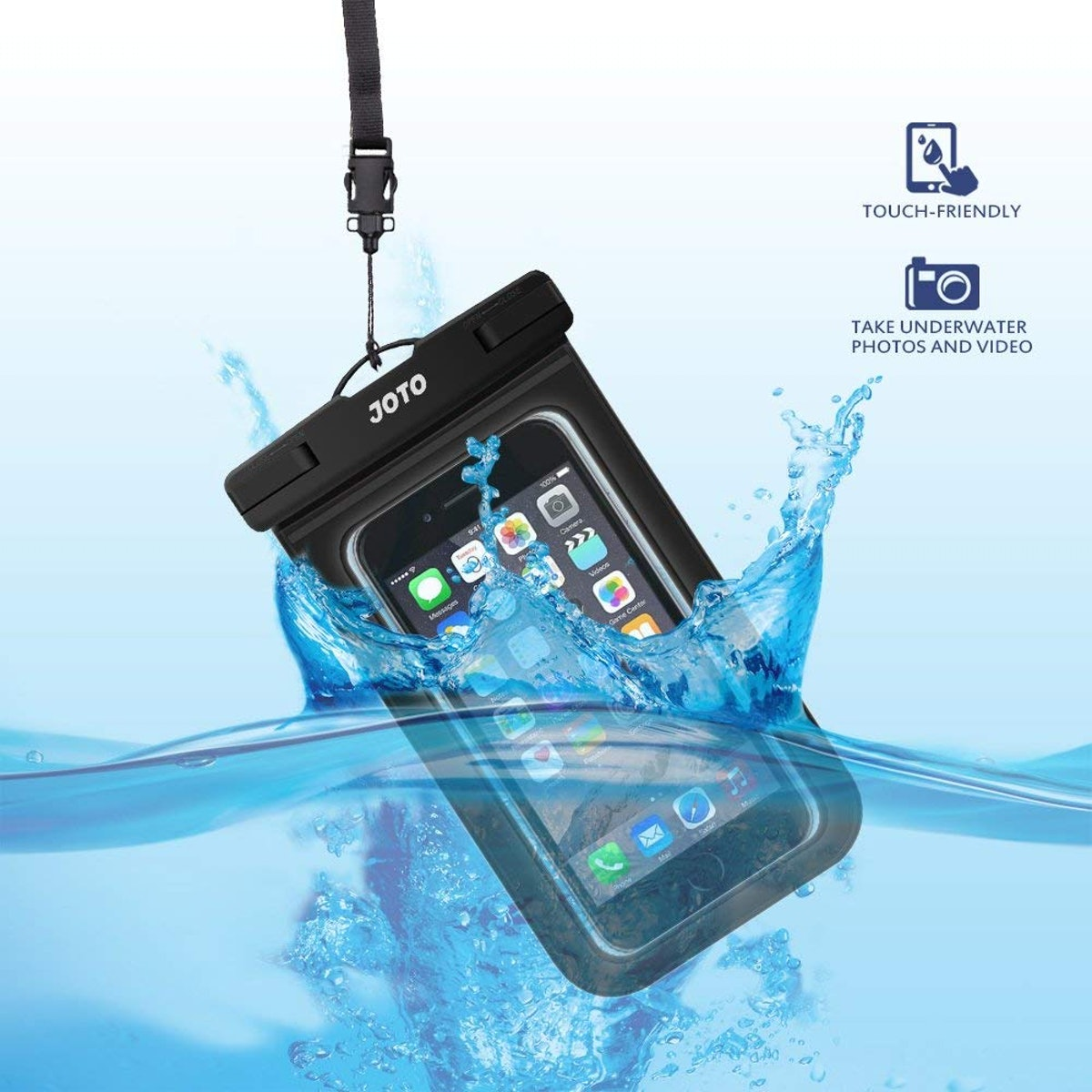 JOTO Waterproof Phone Pouch