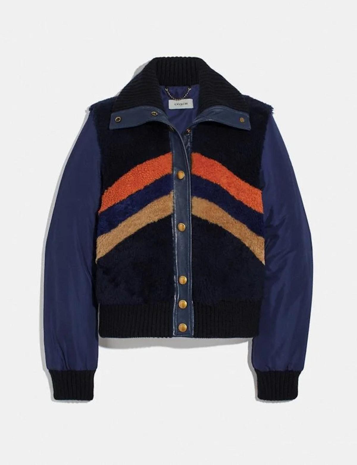 Retro Shearling Jacket