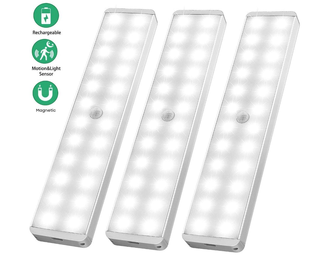 LightBiz Motion Sensor Light (3-Pack)