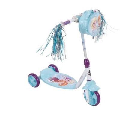 Disney Frozen 3-Wheel Kick Scooter for Girls by Huffy