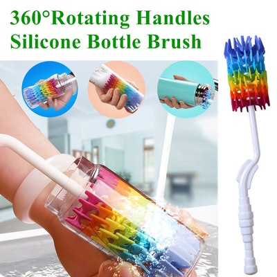 Rayhee Silicone Bottle Brush Cleaner