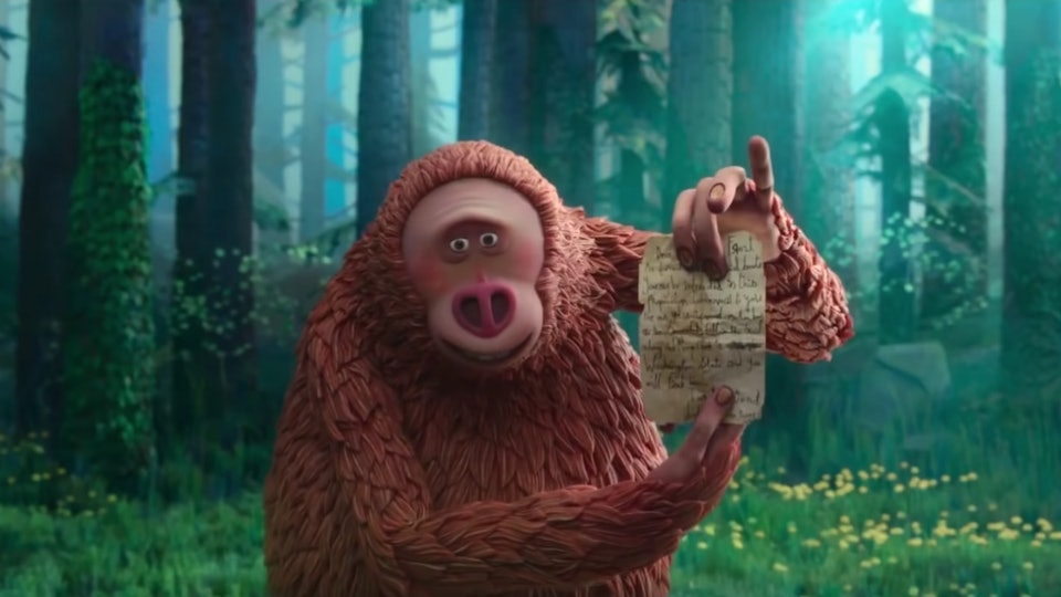 """Missing Link"", a stop motion animated 2019 film, is nominated for Best Animated Picture at the 2020 Golden Globe awards."