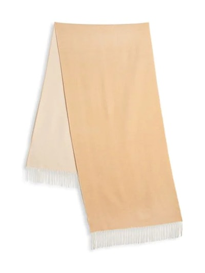 Two-Tone Baby Cashmere Scarf