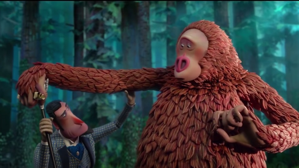 """""""Missing Link"""" was nominated for a Golden Globe, and is probably appropriate for most kids."""