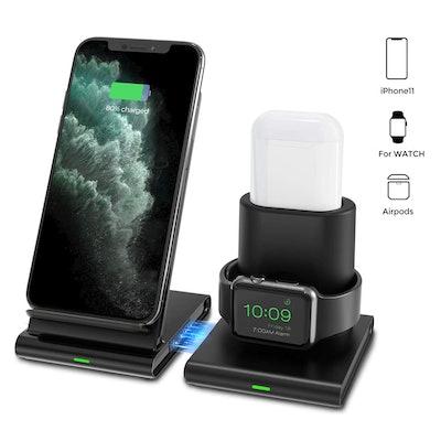 Seneo 3-in-1 Wireless Charging Station