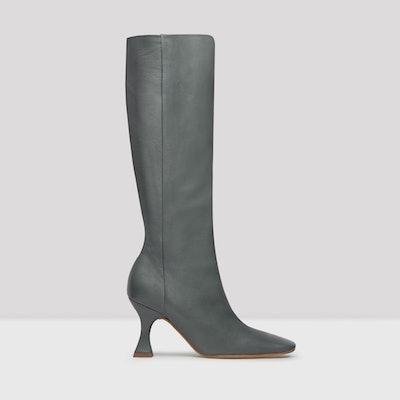 Inga Grigio Nappa Leather Boots