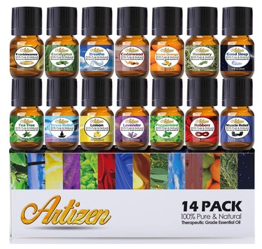 Artizen Aromatherapy Essential Oil Set (14-Piece Set)
