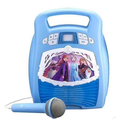 Disney Frozen 2 MP3 Karaoke Light Show with Microphone