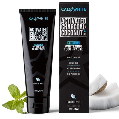 Cali White Activated Charcoal And Coconut Oil Toothpaste