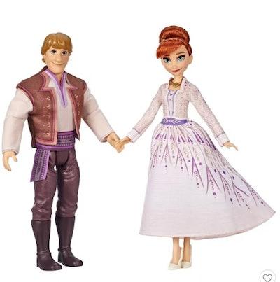Disney Frozen 2 Anna and Kristoff Fashion Dolls