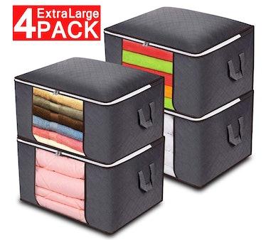 Anyoneer Closet Organizer Storage Bags (4-Pack)