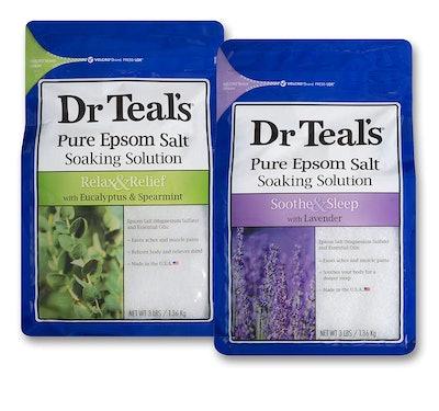 Dr Teal's Epsom Salt Bath Soaking Solution (2-Pack)
