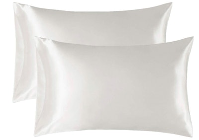 Bedsure Satin Pillowcase for Hair and Skin (2-Pack)
