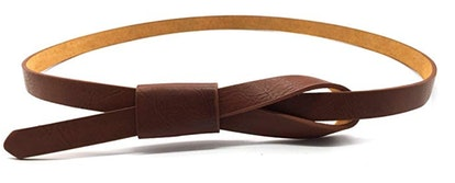 Maikun Womens Adjustable Leather Belt