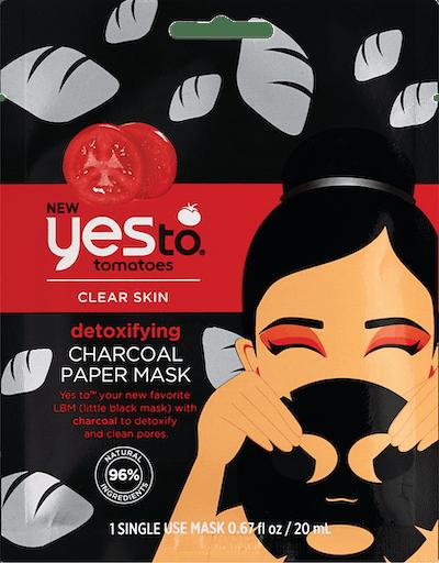 Charcoal Detoxifying Paper Mask