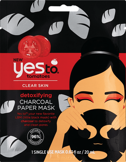 Charcoal Detoxifying Paper Mask