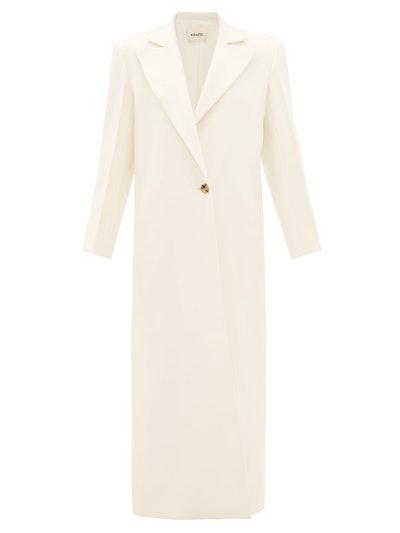 Rania Single-Breasted Overcoat
