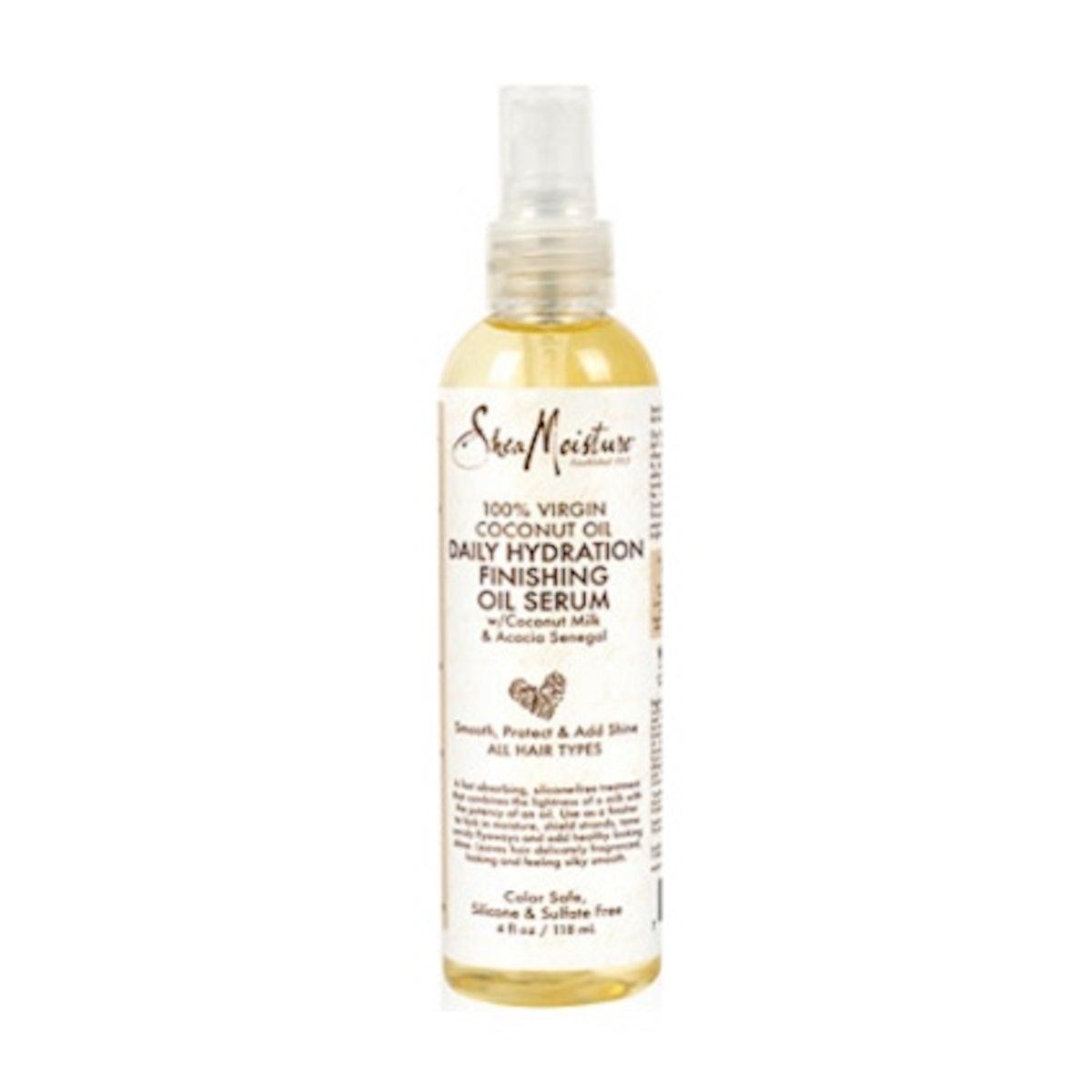 SheaMoisture 100% Virgin Coconut Oil Daily Hydration Finishing Oil Serum