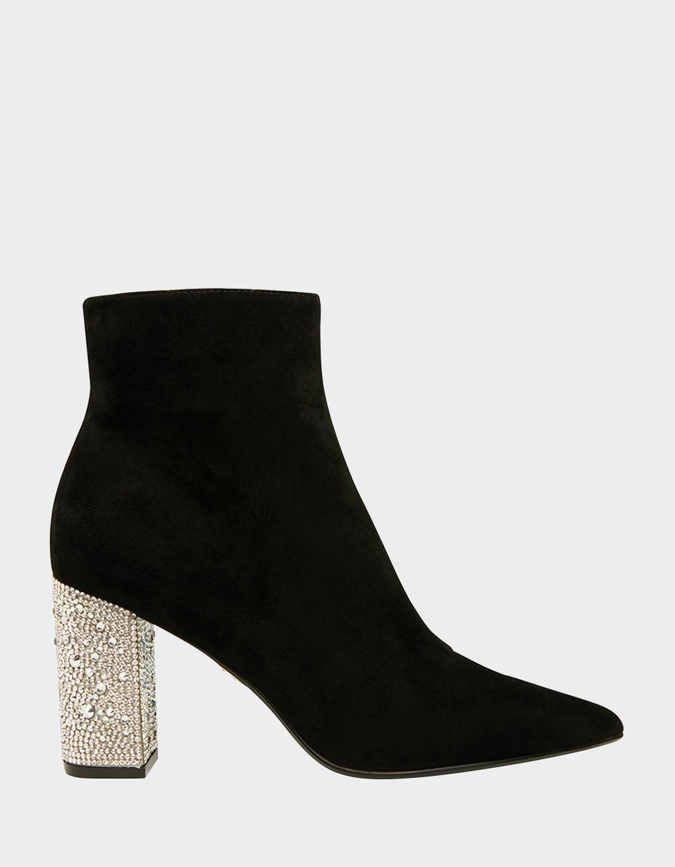 SB-Gemma Boot in Black Suede