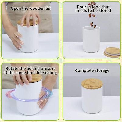 77L Food Storage Jar (Set Of 2)