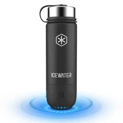 ICEWATER 3-in-1 Smart Stainless Steel Water Bottle