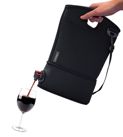Wine Purse with Hidden Spout + 2 Disposable Wine Bladders