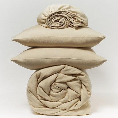 Organic Linen Chambray Minimalist Set