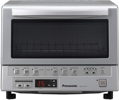 Panasonic FlashXpress Compact Toaster Oven With Double Infrared Heating