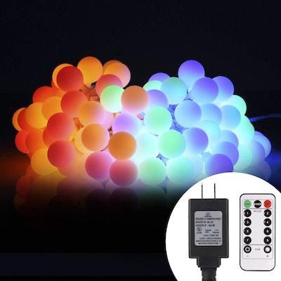 ALOVECO LED Globe String Lights