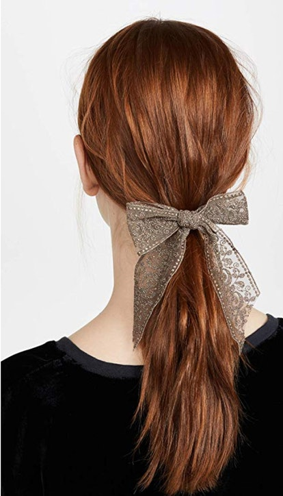 Chan Luu Women's Bronze Bow Barrette