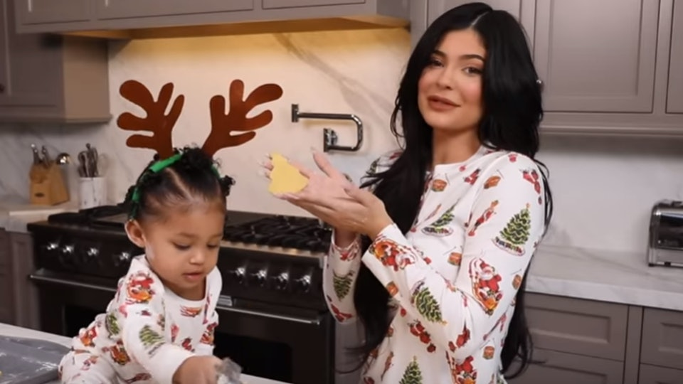 Kylie Jenner's daughter Stormi is just like other toddlers with her mom.