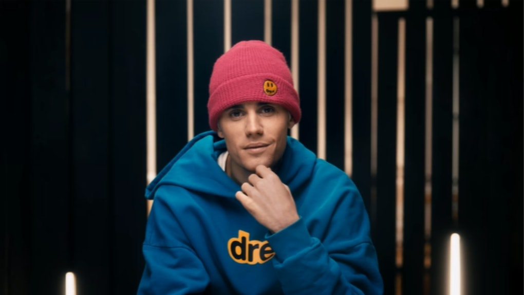 A screenshot from Justin Bieber's 'Seasons' docuseries trailer.