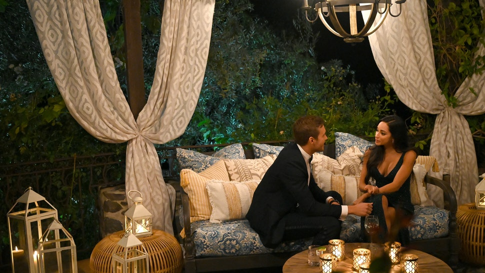 Victoria Fuller and Peter Weber on Season 24 of 'The Bachelor'