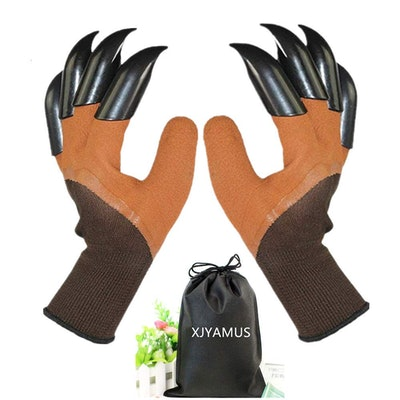 Waterproof Garden Gloves with Claw For Digging