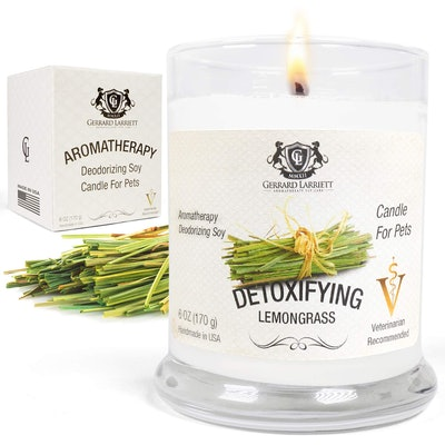 Gerrard Larriett Aromatherapy Pet Care Deodorizing Soy Candle For Pets