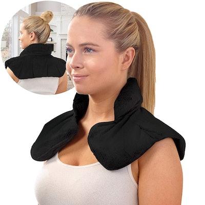 Sharper Image Hot & Cold Aromatherapy Neck & Shoulder Wrap