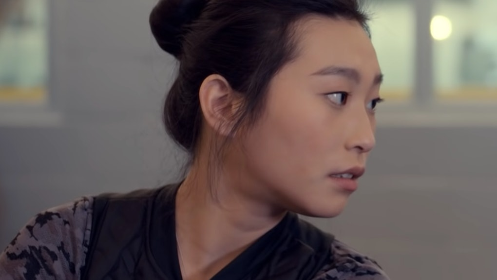 Amanda Zhou in 'Spinning Out'