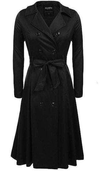 Zeagoo Women's Trench Coat